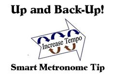 Up and Back-Up :http://www.stringquest.com/up-and-back-up-metronome/
