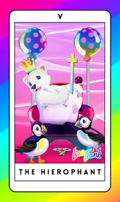 In your future, I see ... lots of rainbow bears holding some sort of concert. #lisafrank #tarot #cards HOW CAN I GET SOME???