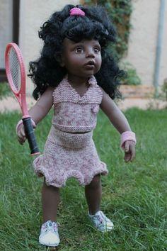 Tuto tenue de tennis pour Gotz. - Les créas de Nathalie