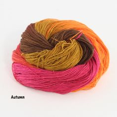 This animika silk yarn, with its playful spirals of color, suggest both fun and something delicate! Color options are intriguing. It's soft and light and perfect for any fingering weight creation! Thi