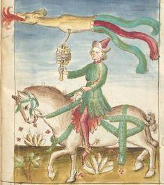 Bellifortis VerfasserKyeser, Conradus  ErschienenElsaß, [um 1460] Ms. germ. qu. 15  Folio 168r