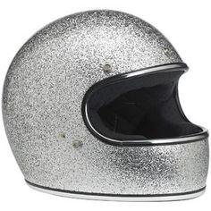 Biltwell Inc. / Biltwell Gringo Helmet - Brite Silver MF