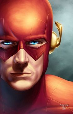 Flash is growing into one of my favorite DC heroes - I do love to run & always hunger for more speed. Comic Book Characters, Comic Book Heroes, Comic Character, Comic Books Art, Flash Tv, The Flash, Flash Point, Arte Dc Comics, Dc Comics Art
