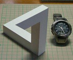 Paper's Optical Illusion
