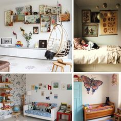 unique kids rooms...or my room!!