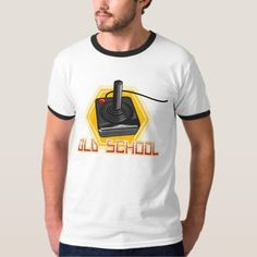 Old School Video Gaming - Atari T-Shirt - click/tap to personalize and buy School Videos, Elmo, Old School, Shirt Style, Fitness Models, Your Style, Shirt Designs, Unisex, Casual