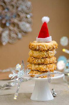 German Christmas Cookies with Marzipan. Rezept mit Bild für Marzipan-Heidesand - foolforfood.de