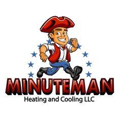 Minuteman Heating and Cooling LLC - Create fun Logo for Minuteman Heating and Cooling Construction Logo Design, Heating And Cooling, Cool Logo, Building Design, Cool Stuff, Create, Logos, Fun, Conditioning