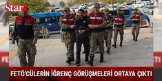 FETÖ sanıklarının iğrenç görüşmeleri ortaya çıktı: Elazığ'da Fetullahçı Terör Örgütü/Paralel Devlet Yapılanması (FETÖ/PDY) soruşturması kapsamında düzenlenen operasyonla gözaltına alınıp tutuklanan 6 sanığın görüşmelerindeki detaylar hainliklerini ortaya çıkardı. Tutuklu sanıkların görüşmelerinde, Türk bayrağından iğrendiklerini söyledikleri, 15 Temmuz şehitlerine 'Salak' dedikleri ve darbe girişiminin sembol ismi Şehit Ömer Halisdemir'e hakaret ettiklerinin belirlendiği öğrenildi.