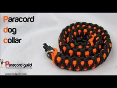 Making a King Cobra Style Paracord Dog Collar For paracord and paracord accessories, visit: http:www.paracordplanet.com