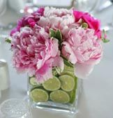 Perfect centerpiece for Tea parties and weddings! Love the color!