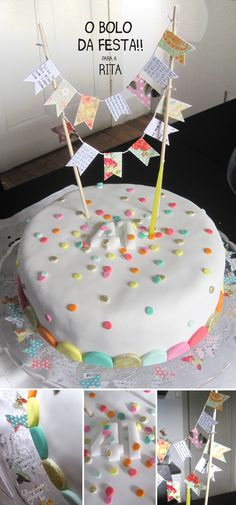 i like the washi tape bunting on top
