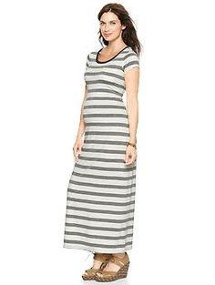 Striped maxi T-shirt dress | Gap