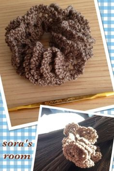 ゴム替えできるシュシュ2*mini*の作り方|編み物|編み物・手芸・ソーイング | アトリエ