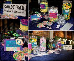 DIY Candy Bar. Life is sweet!