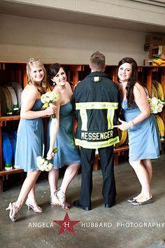 firefighters wedding wedding Pinterest Firefighter wedding
