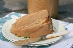 Caramel Glazed Pound Cake