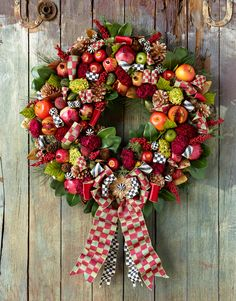Deck your halls with our Estate Barn collection! Mackenzie Childs!   Robin Hood make me one!