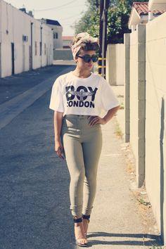 Petite Fashion Bloggers :: CurioserLia :: Boy London