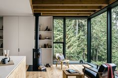 Hood Canal Cabin   Photographed by Andrew Pogue / MW Works