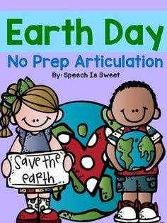 Celebrate+Earth+Day+in+your+speech+room!+This+packet+contains+163+pages+of+NO+PREP+articulation+activities.+Students+simply+color,+cut,+and+glue!+These+activities+are+ideal+for+speech+therapy,+as+students+remain+occupied+(and+have+fun!)+as+they+wait+for+their+turn+to+engage+in+repetitive+drills.