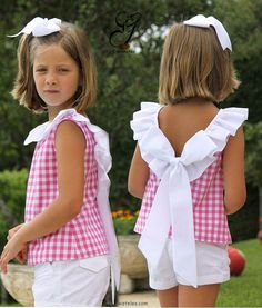 Sewing For Kids Clothes Little Girl Dresses Children Ideas For 2019 Girls Summer Outfits, Summer Girls, Kids Girls, Kids Outfits, Summer Clothes, Summer Tops, Baby Girls, Newborn Outfits, Casual Outfits