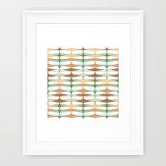 Grasshopper Framed Art Print by Jaymee - $35.00
