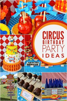 A Boy's Carnival Birthday Party - Spaceships and Laser Beams