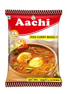 Punjabi egg curry recipe | Buy On Aachifoods at RS.29 To make egg masala currywith tasty buy egg curry masala on aachiffods at RS.29