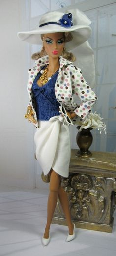 Corbeau for Silkstone Barbie and Victoire Roux on Etsy now « Matisse Fashions