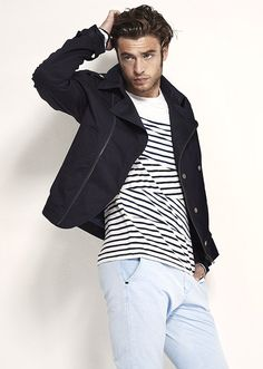 Mode Homme IKKS : Parka été et marinière