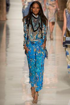 Etro Spring 2014 Ready-to-Wear Fashion Show - Malaika Firth