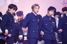 Jungkook,RM and Jin