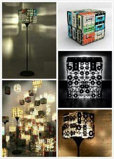 Casettes lamps