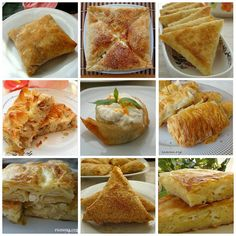 Recipes of different pastries from ready-made muffins varieties) - rumma - rumma - Greek Cooking, Cooking Time, Cooking Recipes, Easy Cake Recipes, Dessert Recipes, Phyllo Dough Recipes, Ramadan Desserts, Turkish Recipes, Ethnic Recipes