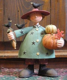 Happy Harvester from the Williraye Studio Halloween Collection $36.99 at the Cottage Gift Shop - Elmira, NY