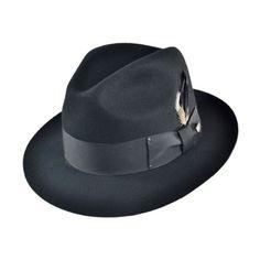f8292fe7c13bbc Bailey Gangster Fedora Hat Black Dress Shoes, Black Leather Dresses, Fedora  Hat, Beret