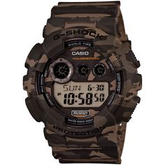 G-SHOCK GD120CM-5, G-SHOCK Camouflage Brown