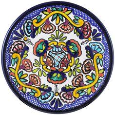 Talavera Bread Plate Pattern 40 Online Discount TH040C