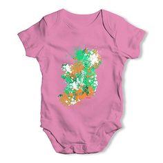 Ireland Paint Spl...  http://twistedenvy.com/products/ireland-paint-splats-silhouette-baby-unisex-baby-grow-bodysuit?utm_campaign=social_autopilot&utm_source=pin&utm_medium=pin   Shop for Amazing Art  Show your Creative side.  #Twistedenvy