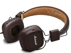 A pair of Bluetooth-enabled Marshall Major II headphones that give off a slick vintage vibe ($99).