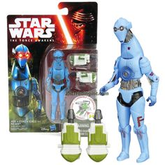 Hasbro Year 2015 Star Wars The Force Awakens Series 4-1/2 Inch Tall Action Figure : PZ-4CO with Build A Weapon Part #1