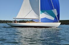 Lyman-Morse Boatbuilding - 48' Sparkman & Stephens Classic Daysailer - Thomaston, Maine