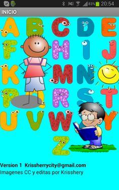 Abecedario para niños en Español es una Completa aplicación con la que tus niños no tardaran en pronunciar y aprender a decir todas las letras del Alfabeto español