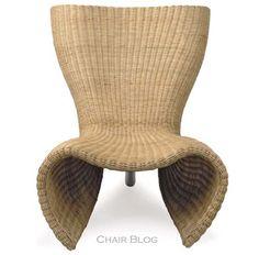 Felt Chair (in wicker) 1990 Marc Newson, wicker & steel