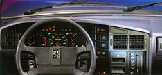 Peugeot 505 serie 2. One of the best dashboard ever designed