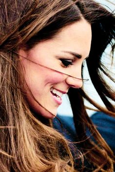 Simply gorgeous.  Duchess Catherine,  Kate Middleton. Dimples!