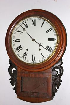 Ansonia Wall Clocks | ansonia dop dial wall clock american ansonia dop dial wall clock ...