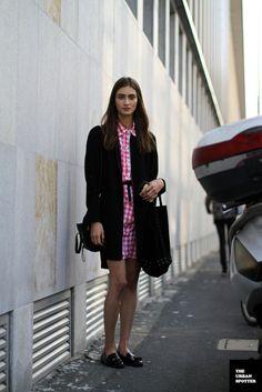 On the Street…..Marine Deleeuw