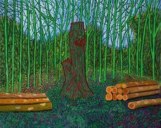 Image result for david hockney ipad art